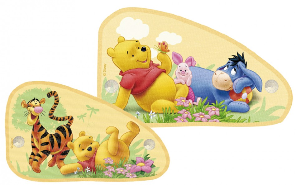 sonnenschutz f rs auto mini vans winnie the pooh. Black Bedroom Furniture Sets. Home Design Ideas